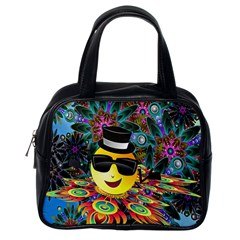 Abstract Digital Art Classic Handbags (one Side)