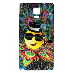 Abstract Digital Art Galaxy Note 4 Back Case