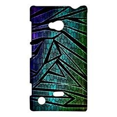 Abstract Background Rainbow Metal Nokia Lumia 720