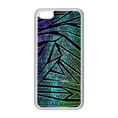 Abstract Background Rainbow Metal Apple Iphone 5c Seamless Case (white)