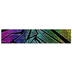 Abstract Background Rainbow Metal Flano Scarf (small) by Nexatart