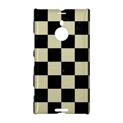 Square1 Black Marble & Beige Linen Nokia Lumia 1520 Hardshell Case by trendistuff