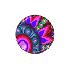Abstract Digital Art  Hat Clip Ball Marker by Nexatart