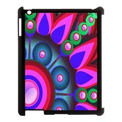 Abstract Digital Art  Apple Ipad 3/4 Case (black)