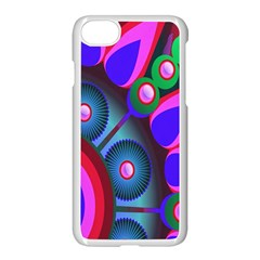 Abstract Digital Art  Apple Iphone 7 Seamless Case (white) by Nexatart
