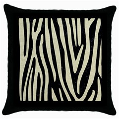 Skin4 Black Marble & Beige Linen (r) Throw Pillow Case (black) by trendistuff