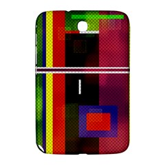 Abstract Art Geometric Background Samsung Galaxy Note 8 0 N5100 Hardshell Case