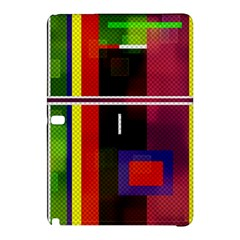 Abstract Art Geometric Background Samsung Galaxy Tab Pro 10 1 Hardshell Case