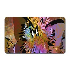 Abstract Digital Art Magnet (Rectangular) by Nexatart