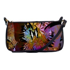 Abstract Digital Art Shoulder Clutch Bags by Nexatart