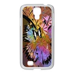 Abstract Digital Art Samsung Galaxy S4 I9500/ I9505 Case (white)
