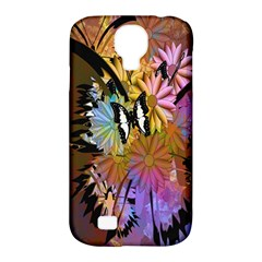 Abstract Digital Art Samsung Galaxy S4 Classic Hardshell Case (pc+silicone)