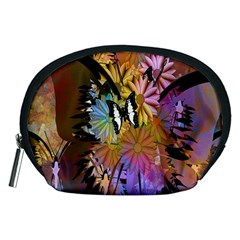 Abstract Digital Art Accessory Pouches (medium)  by Nexatart