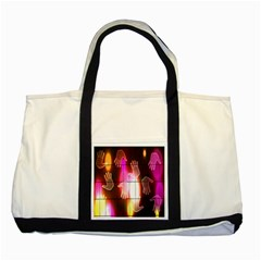 Abstract Background Design Squares Two Tone Tote Bag by Nexatart