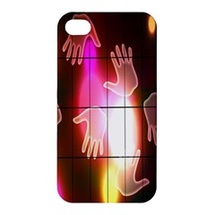 Abstract Background Design Squares Apple Iphone 4/4s Premium Hardshell Case