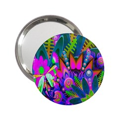 Abstract Digital Art  2 25  Handbag Mirrors