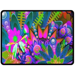 Abstract Digital Art  Fleece Blanket (large)