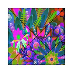 Abstract Digital Art  Acrylic Tangram Puzzle (6  X 6 ) by Nexatart