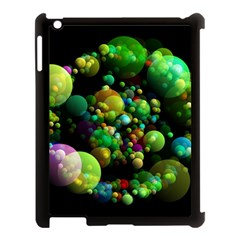 Abstract Balls Color About Apple Ipad 3/4 Case (black)