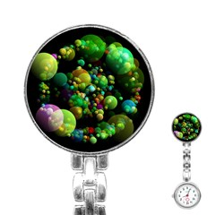 Abstract Balls Color About Stainless Steel Nurses Watch by Nexatart