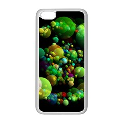 Abstract Balls Color About Apple Iphone 5c Seamless Case (white)