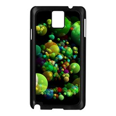 Abstract Balls Color About Samsung Galaxy Note 3 N9005 Case (black)