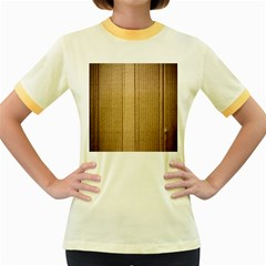 Abstract Art Backdrop Background Women s Fitted Ringer T Shirts