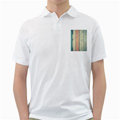 Abstract Board Construction Panel Golf Shirts