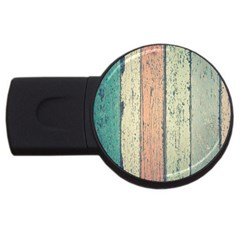 Abstract Board Construction Panel Usb Flash Drive Round (2 Gb)