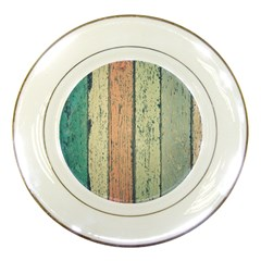 Abstract Board Construction Panel Porcelain Plates by Nexatart