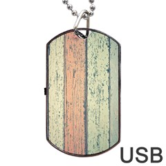 Abstract Board Construction Panel Dog Tag Usb Flash (one Side) by Nexatart