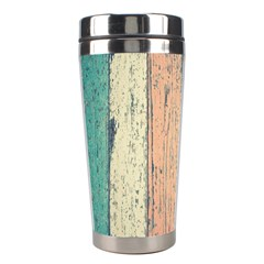 Abstract Board Construction Panel Stainless Steel Travel Tumblers by Nexatart