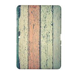 Abstract Board Construction Panel Samsung Galaxy Tab 2 (10 1 ) P5100 Hardshell Case  by Nexatart