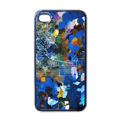 Abstract Farm Digital Art Apple Iphone 4 Case (black) by Nexatart