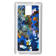 Abstract Farm Digital Art Samsung Galaxy Note 4 Case (white)