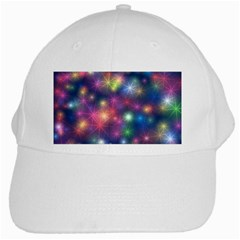 Abstract Background Graphic Design White Cap by Nexatart