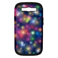 Abstract Background Graphic Design Samsung Galaxy S Iii Hardshell Case (pc+silicone)