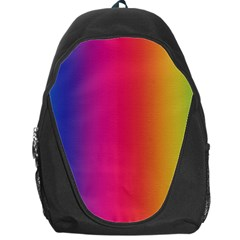 Abstract Rainbow Backpack Bag
