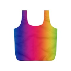 Abstract Rainbow Full Print Recycle Bags (s)