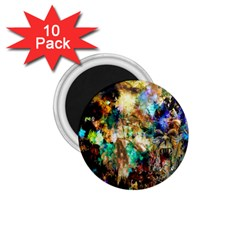 Abstract Digital Art 1 75  Magnets (10 Pack)