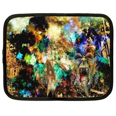 Abstract Digital Art Netbook Case (xxl)
