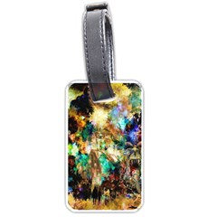 Abstract Digital Art Luggage Tags (two Sides)