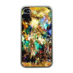 Abstract Digital Art Apple Iphone 4 Case (clear)