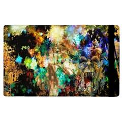 Abstract Digital Art Apple Ipad 2 Flip Case by Nexatart