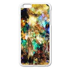 Abstract Digital Art Apple Iphone 6 Plus/6s Plus Enamel White Case
