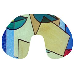 Abstract Art Face Travel Neck Pillows