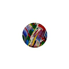Abstract Art Art Artwork Colorful 1  Mini Magnets