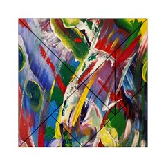 Abstract Art Art Artwork Colorful Acrylic Tangram Puzzle (6  X 6 )