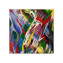 Abstract Art Art Artwork Colorful Acrylic Tangram Puzzle (4  X 4 )
