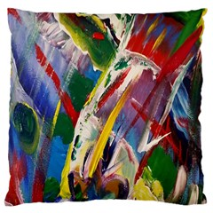 Abstract Art Art Artwork Colorful Large Cushion Case (one Side)